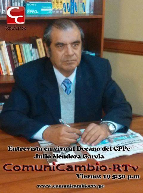 Entrevista al Decano Nacional del CPPe