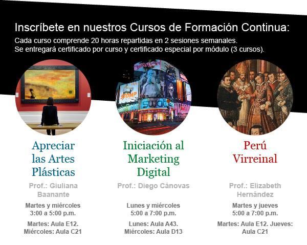 Cursos de formación continua – Universidad de Piura