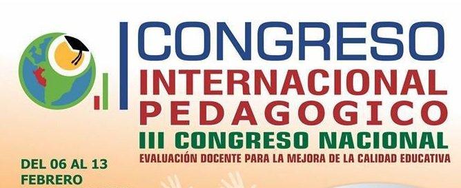 """CPPe AREQUIPA – III CONGRESO NACIONAL PEDAGÓGICO """"EVALUACIÓN DOCENTE PARA LA MEJORA DE LA CALIDAD EDUCATIVA"""""""