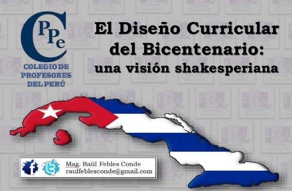 El Diseño Curricular del Bicentenario:una visión shakesperiana