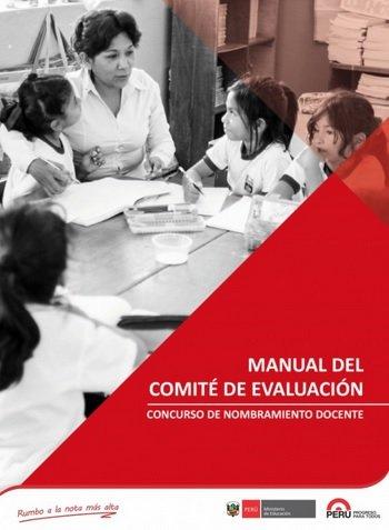 Concurso de Nombramiento: Manual del Comité de Evaluación
