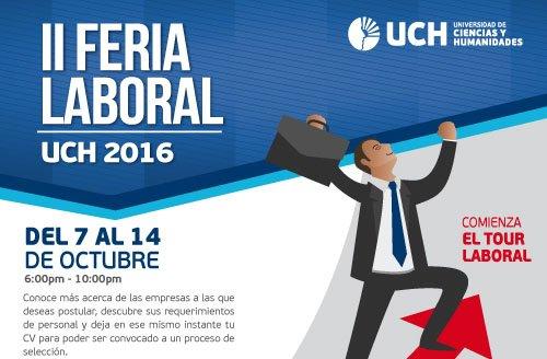 Participación de Decano Nacional del CPPe en la II Feria Laboral para el futuro docente – UCH.