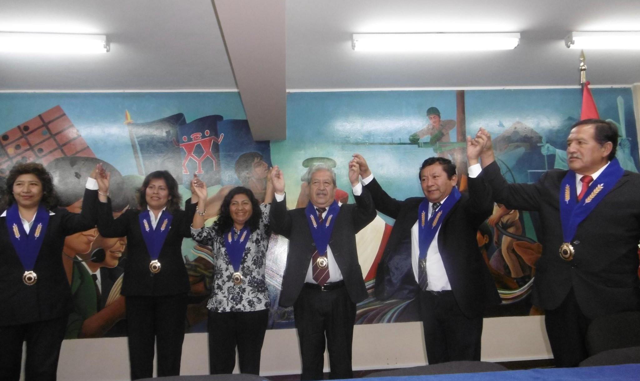 Ceremonia de Juramentación de la JDN del CPPe, periodo 2016 – 2019