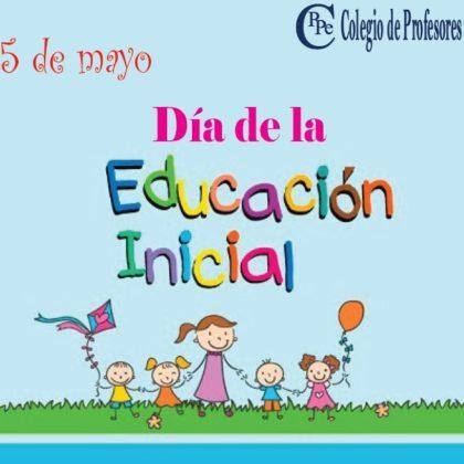 Saludo a las maestras de Educación Inicial