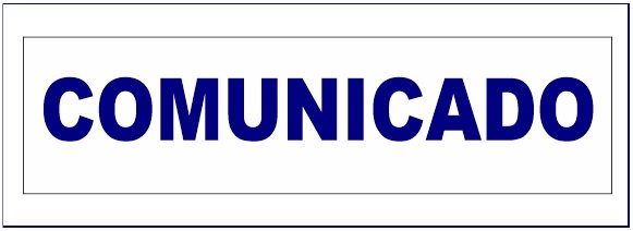 COMUNICADO SOBRE CONVOCATORIA A ELECCIONES