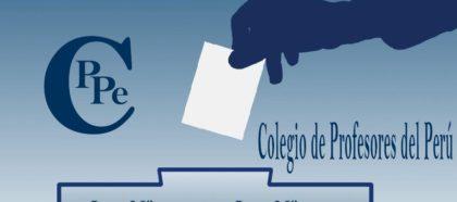 COMUNICADO DEL COMITÉ ELECTORAL NACIONAL DEL CPPe.