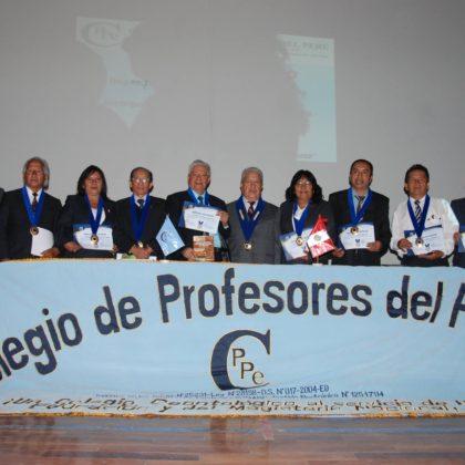 Ceremonia por el Día del Maestro y Medalla de Honor CPPe 2017