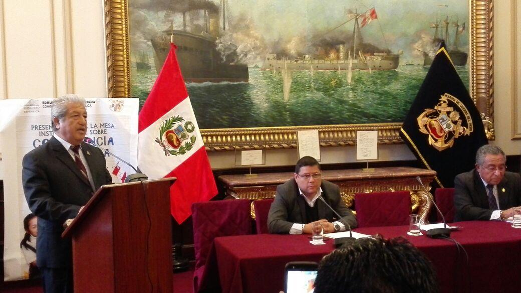 INSTALACIÓN DE LA MESA INSTITUCIONAL SOBRE CONVIVENCIA EN LA ESCUELA