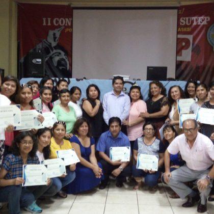 CLAUSURA DEL I CURSO DE ACTUALIZACIÓN PEDAGÓGICA 2018.