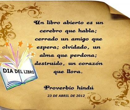 ¡VIVA EL DÍA MUNDIAL DEL LIBRO!