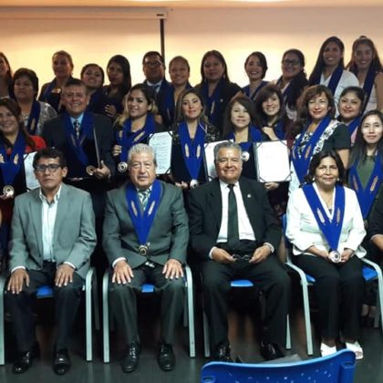Con éxito se realizó la I Ceremonia de Colegiación 2019