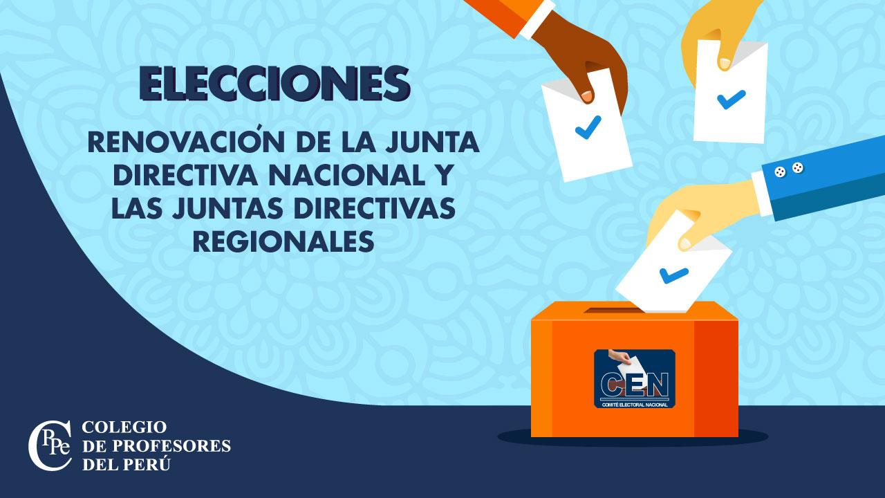 Elecciones CPPe: Domingo, 15 de marzo de 2020.