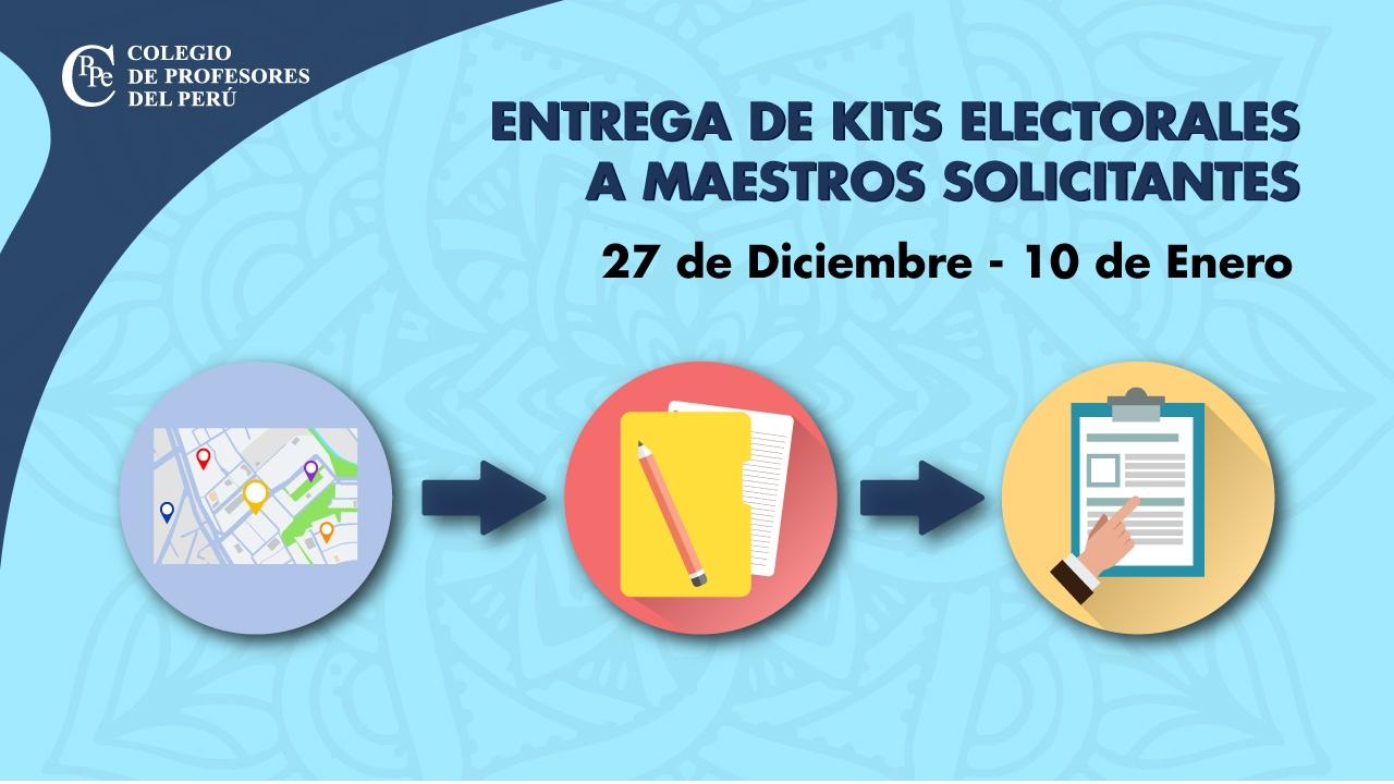 Kit Electoral - Elecciones Nacionales del CPPe 2020