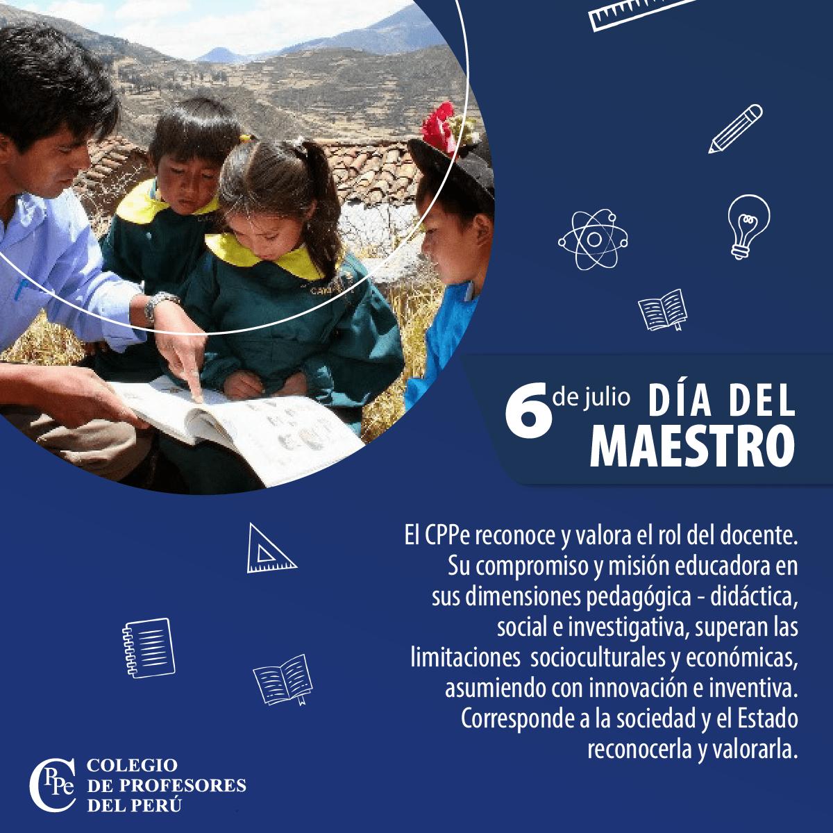 Los maestros del Perú se reinventaron para asumir su rol educador y merecen ser reconocidos y valorados por la sociedad y el Estado