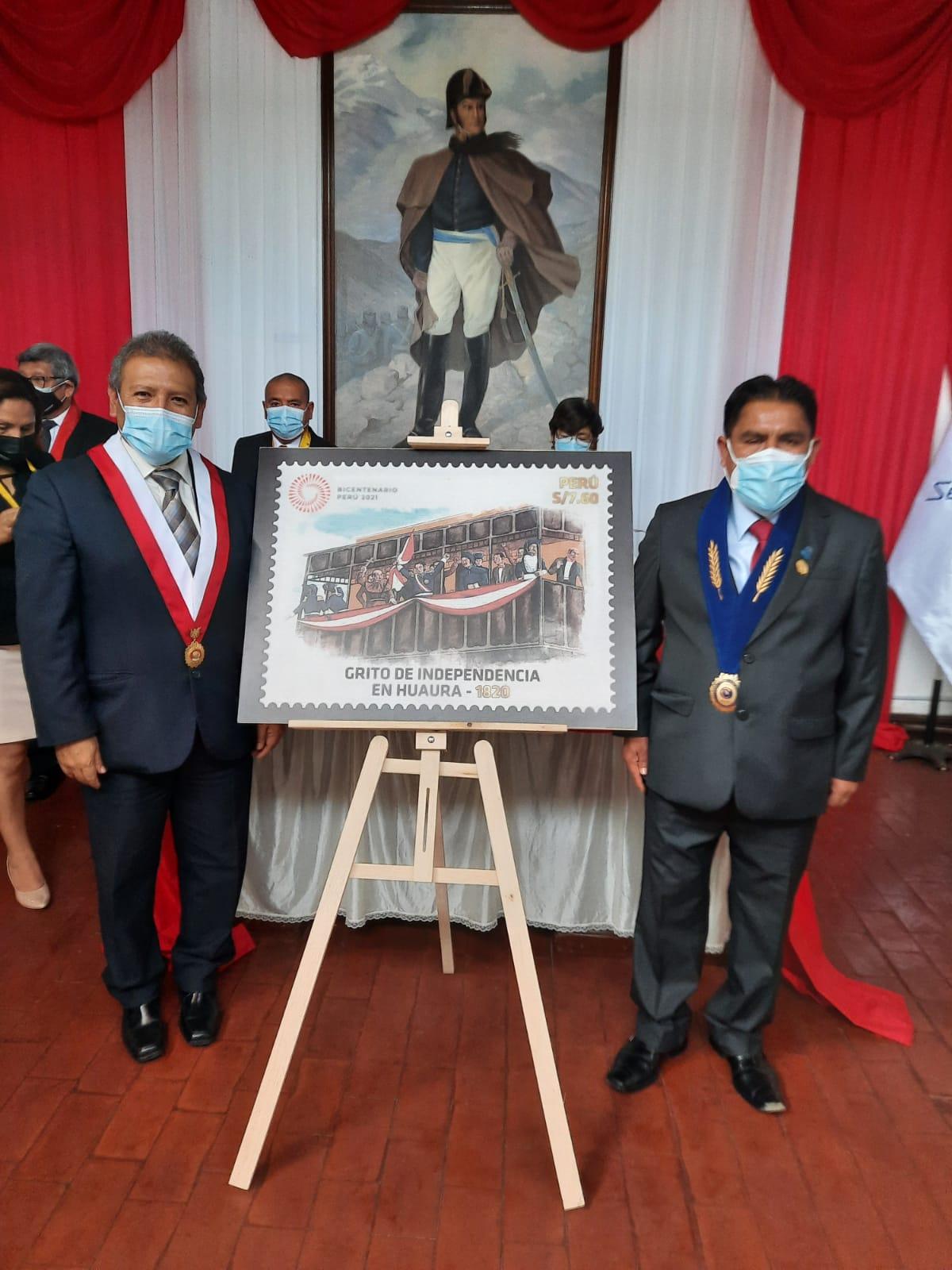 Decano Regional de Lima Provincias participó de acto de conmemoración por Bicentenario de la República